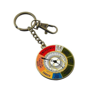 Fantastic Beasts and Where to Find Them Magical Exposure Threat Level Dial Keyring