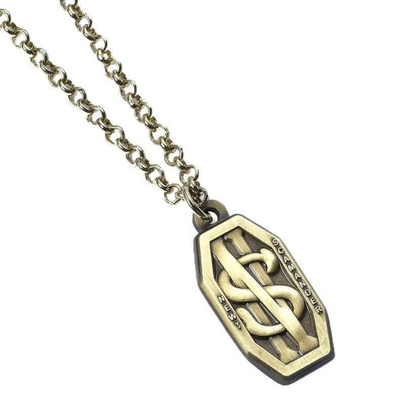 Fantastic Beasts and Where to Find Them Newt Scamander Logo Necklace