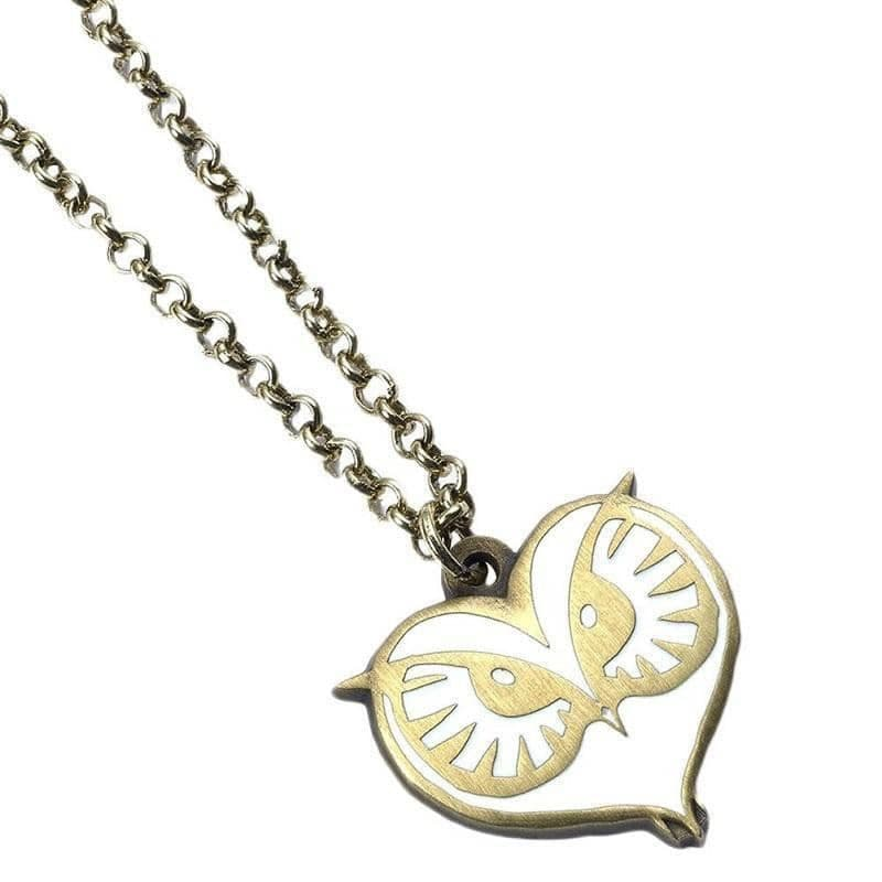 Fantastic Beasts and Where to Find Them Owl Face Necklace