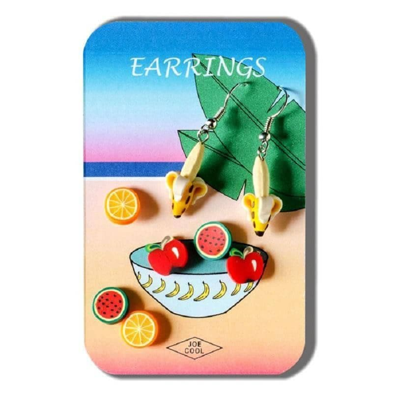 Funky Fimo Fruits Earring Set
