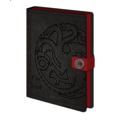 Game of Thrones Premium A5 Hardback Notebooks.
