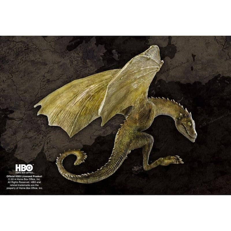 Game of Thrones Rhaegal Baby Dragon Figurine