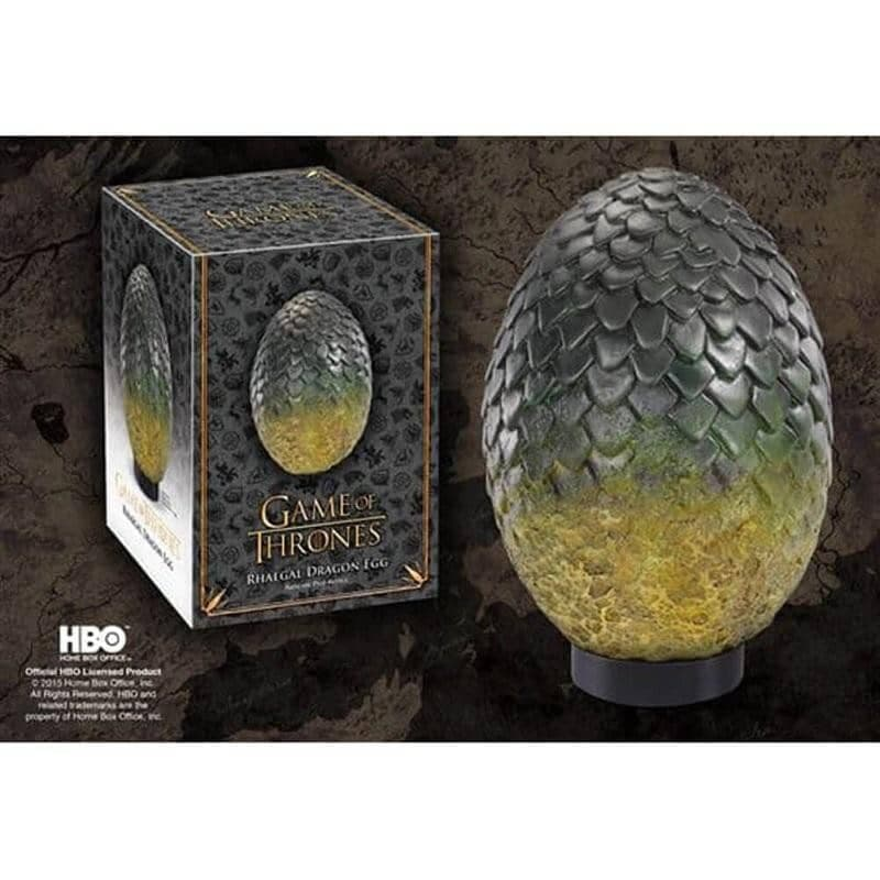 Game of Thrones Rhaegal Dragon Egg