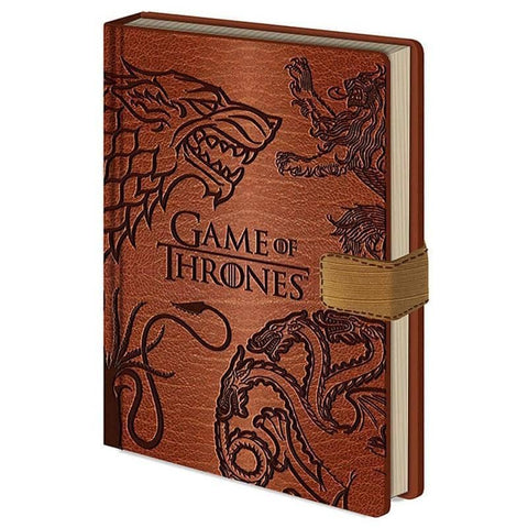 Game of Thrones Sigils Premium A5 Hardback Notebook