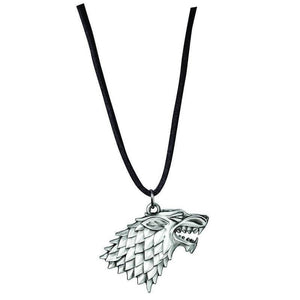 Sterling Silver Game of Thrones Stark Sigil Pendant