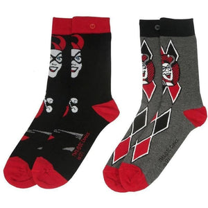 Harley Quinn Assorted Socks (2 Pairs)