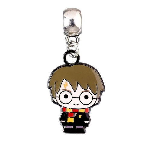 Harry Potter Chibi Silver Plated Slider Charm