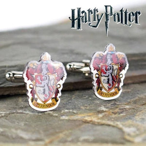 Harry Potter Gryffindor Crest Silver Plated Cufflinks