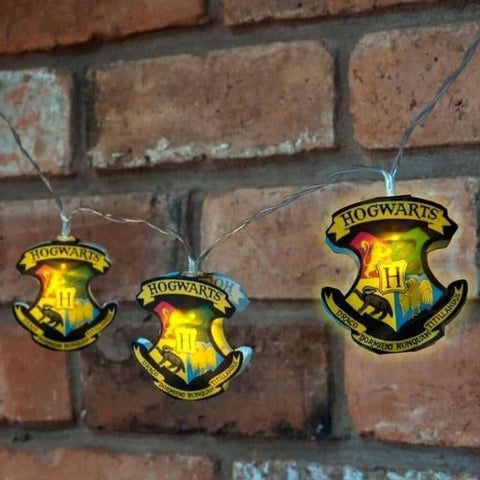 Harry Potter Hogwarts Crest 2D String Lights