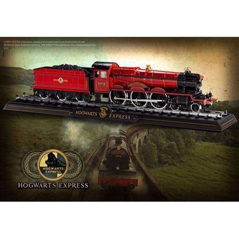 a07f5e01934 Harry Potter Hogwarts Express Die Cast Train Model and Base – Retro Styler