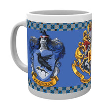 Load image into Gallery viewer, Harry Potter Hogwarts House Crest Mugs