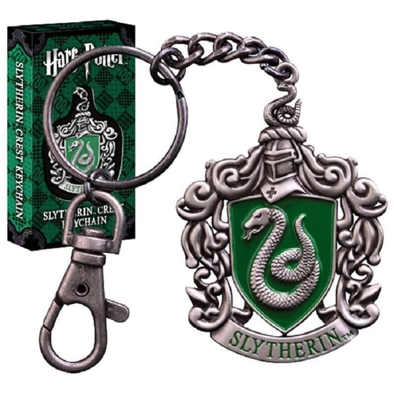 Harry Potter Hogwarts Slytherin Crest Keychain