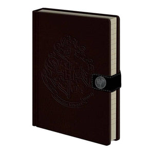 Harry Potter Logo A5 Premium Hardback Notebook with Metal Clasp