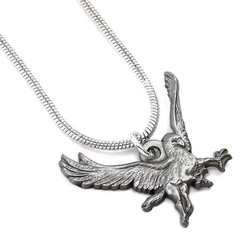 Harry Potter Silver Plated Buckbeak Necklace