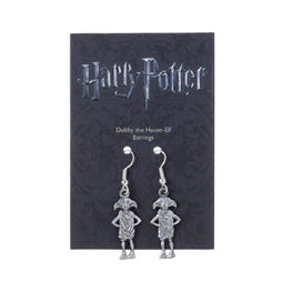 Harry Potter Silver Plated Dobby the Elf Drop Earrings