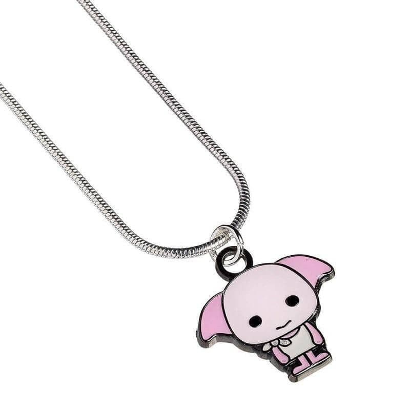 Harry Potter Silver Plated Dobby the House Elf Chibi Necklace