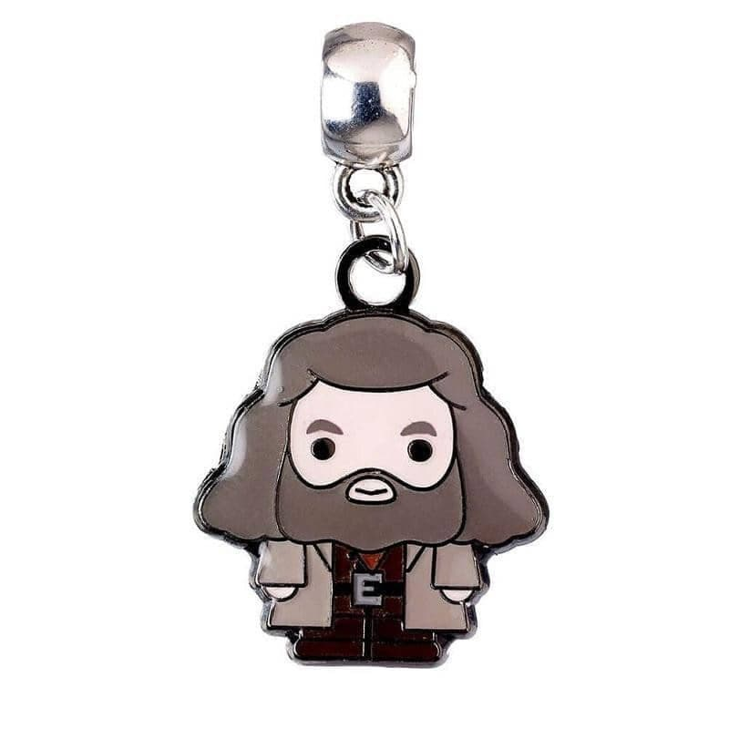Harry Potter Silver Plated Hagrid Chibi Slider Charm