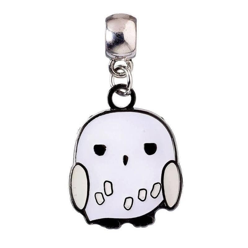 Harry Potter Silver Plated Hedwig Chibi Slider Charm