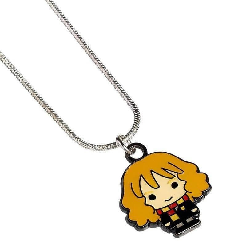 Harry Potter Silver Plated Hermione Granger Chibi Necklace