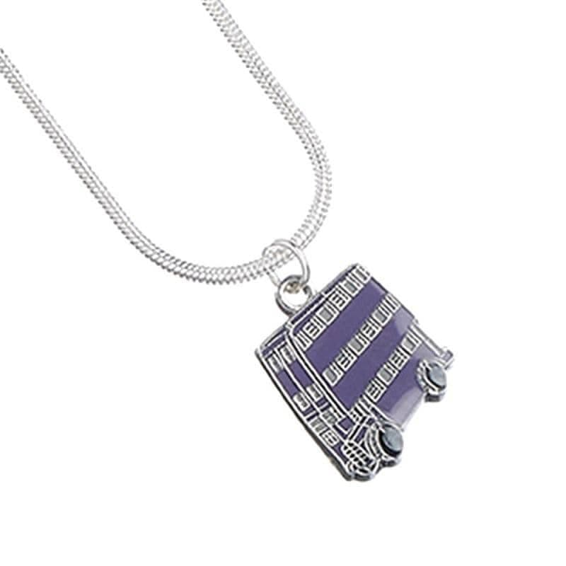 Harry Potter Silver Plated Knight Bus Necklace