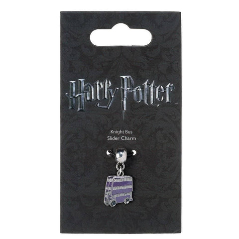 Harry Potter Silver Plated Knight Bus Slider Charm