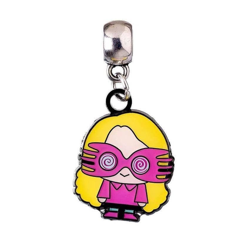 Harry Potter Silver Plated Luna Lovegood Chibi Slider Charm