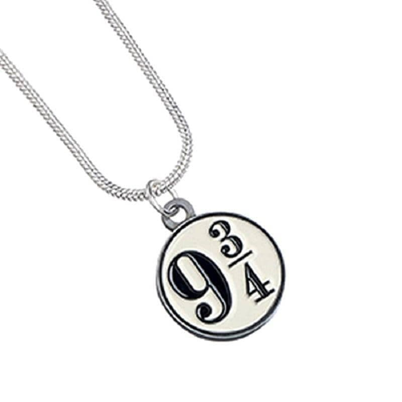 Harry Potter Silver Plated Platform 9 ¾ Necklace