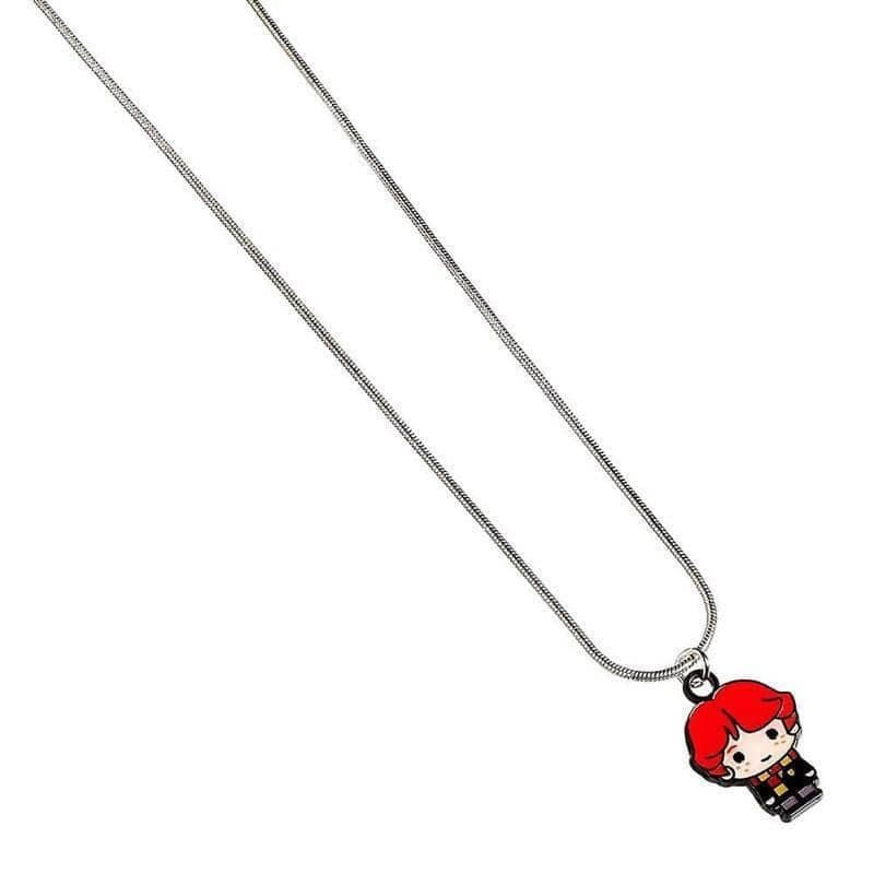 Harry Potter Silver Plated Ron Weasley Chibi Necklace