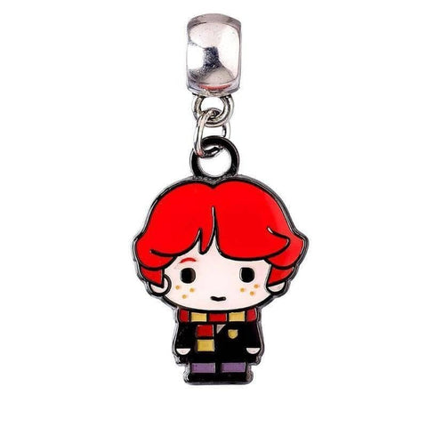 Harry Potter Silver Plated Ron Weasley Chibi Slider Charm