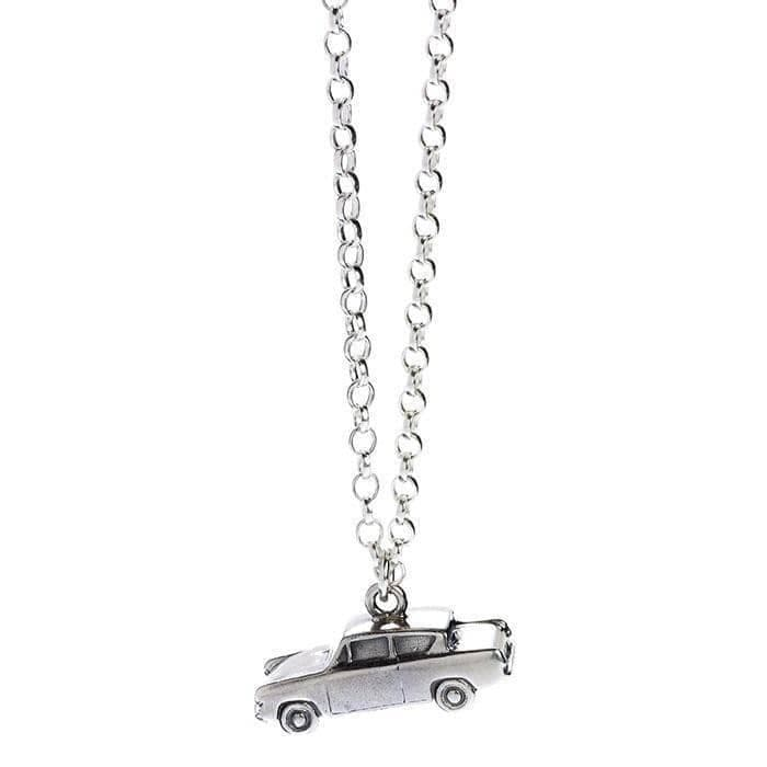 Harry Potter Sterling Silver Ford Anglia Flying Car Charm Necklace