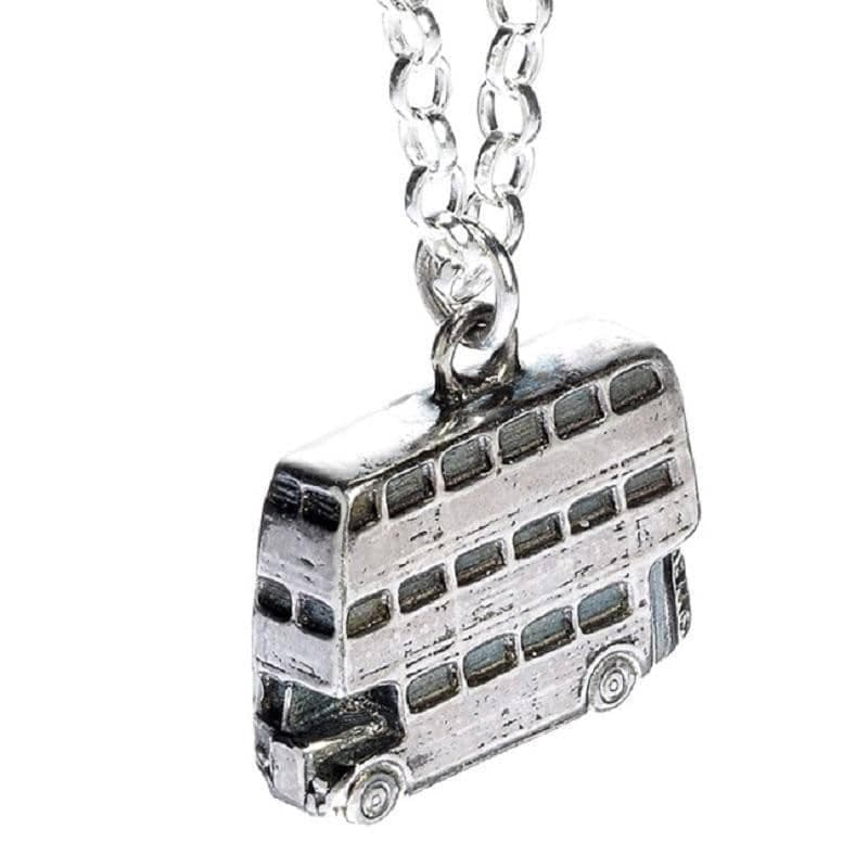 Harry Potter Sterling Silver Knight Bus Charm Necklace