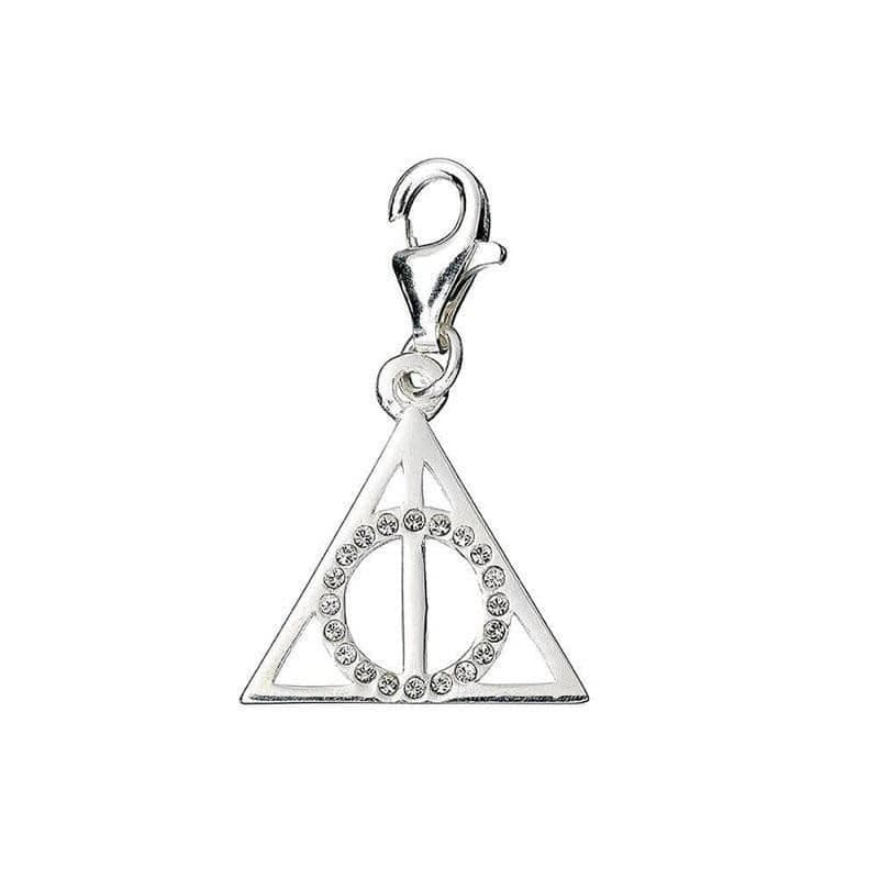 Harry Potter Swarovski Crystals Deathly Hallows Clip on Charm