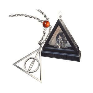 Harry Potter Xenophilius Lovegood Necklace and Display Case