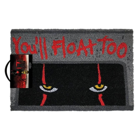 IT Pennywise Clown 'You'll Float Too' Doormat