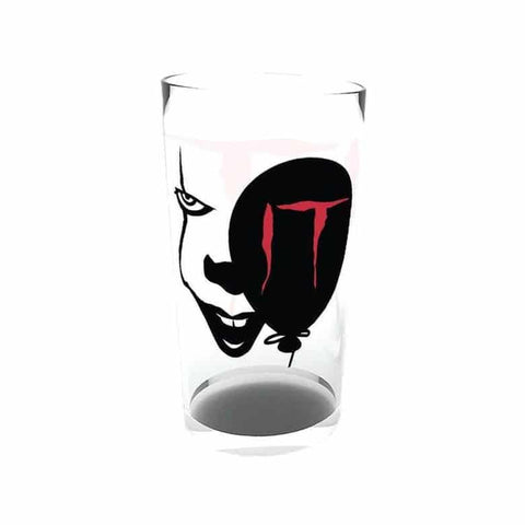 IT Pennywise Face Large Glass