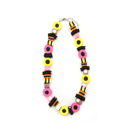 Liquorice Allsort Necklace
