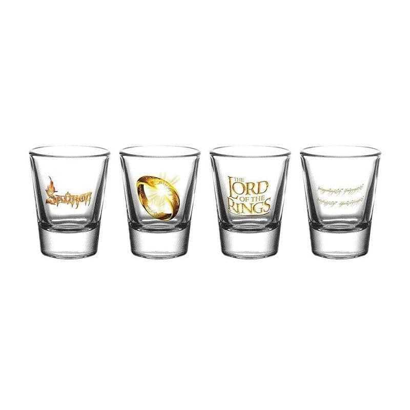 Lord of the Rings Shot Glasses
