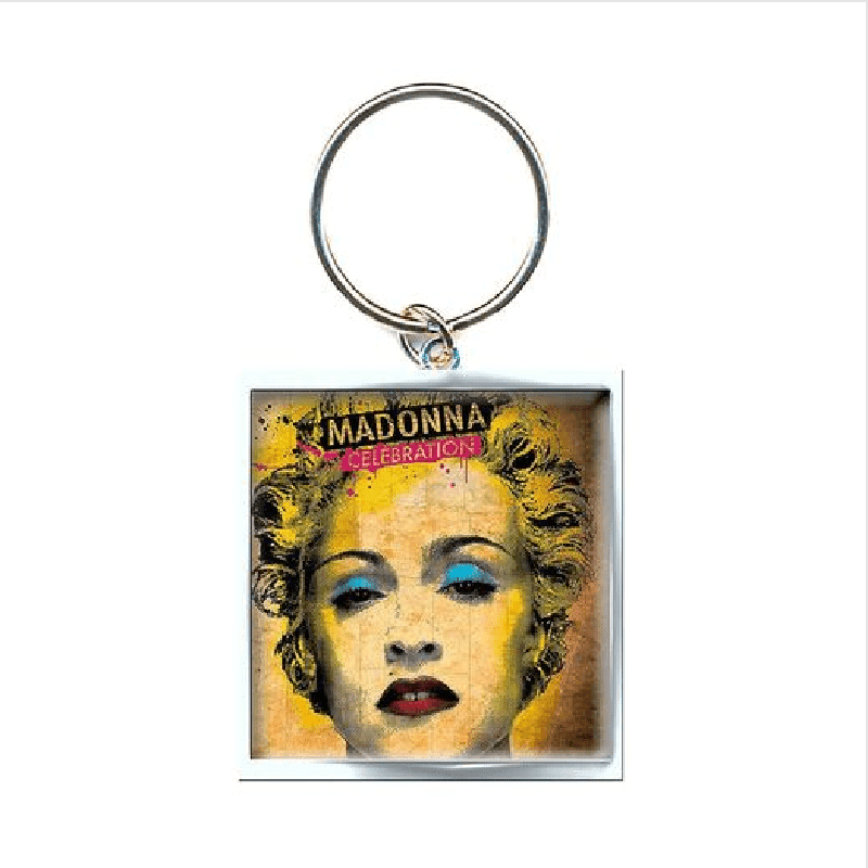 Madonna Celebration Keyring