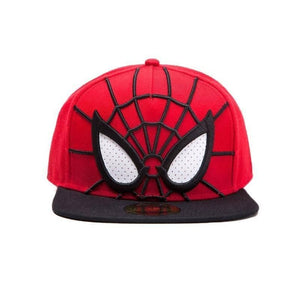 Marvel Spider-Man 3D Snapback Cap with Mesh Eyes