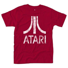 Load image into Gallery viewer, Men's Atari Logo Red T-Shirt