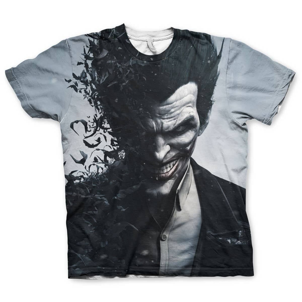 Men's Batman Arkham Origins Joker Sublimated T-Shirt