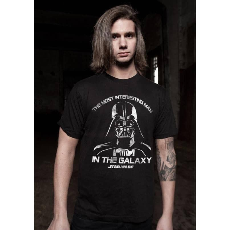 Men's Darth Vader 'Most Interesting Man in the Galaxy' T-Shirt