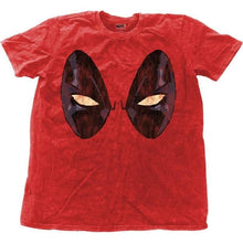 Load image into Gallery viewer, Men's Deadpool Eyes Snow Wash T-Shirt