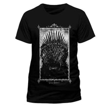 Load image into Gallery viewer, Men's Game of Thrones Win or Die Black T-Shirt