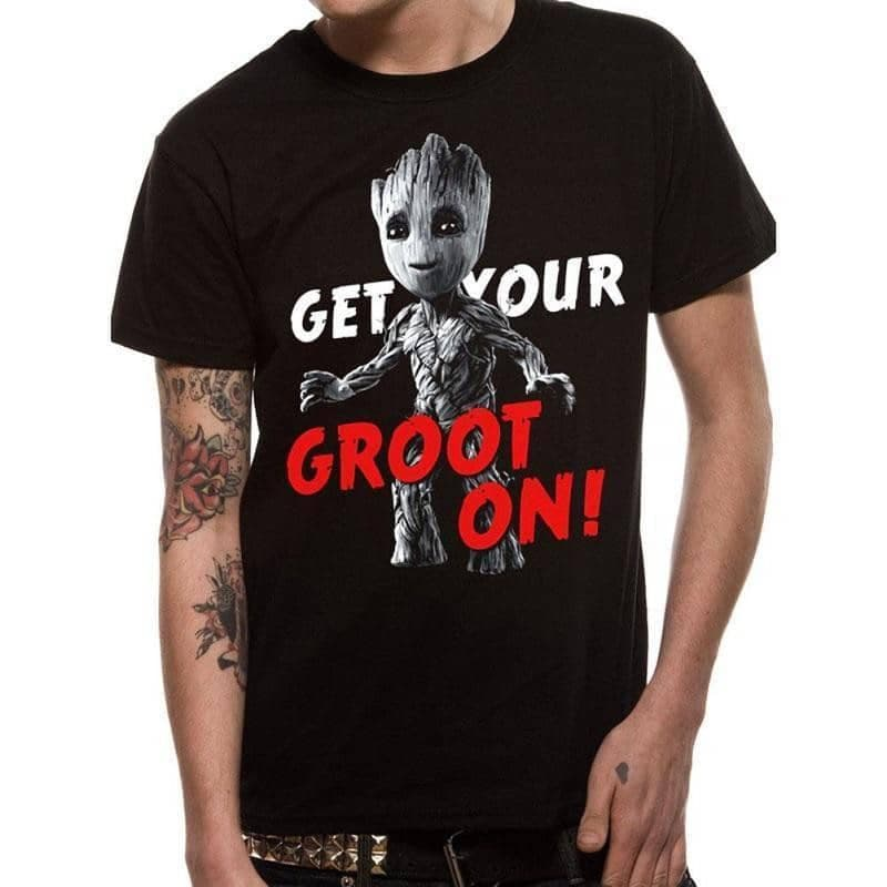 Men's Guardians Of The Galaxy Get Your Groot On T-Shirt