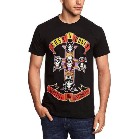 Men's Guns N' Roses Appetite For Destruction T-Shirt