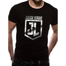 Load image into Gallery viewer, Men's Justice League Foil Logo T-Shirt