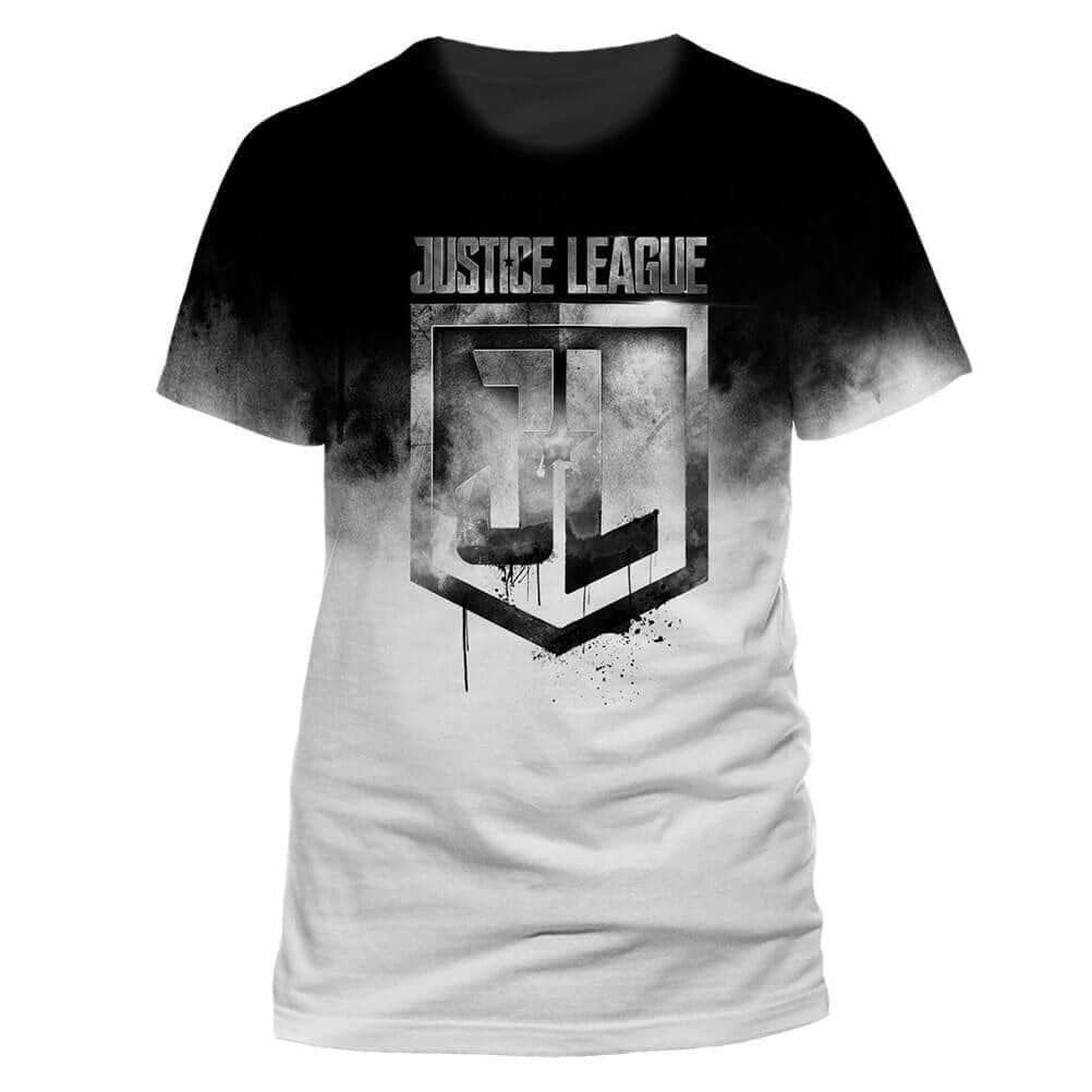 Men's Justice League Sublimation Print T-Shirt