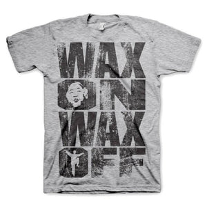 Men's Karate Kid 'Wax On Wax Off' T-Shirt