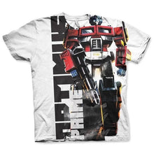 Load image into Gallery viewer, Men's Optimus Prime All Over Printed T-Shirt
